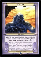 Karn MTG Vanguard (Oversized) Card