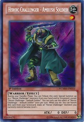 Heroic Challenger - Ambush Soldier - NUMH-EN010 - Secret Rare - Unlimited