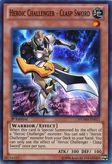 Heroic Challenger - Clasp Sword - NUMH-EN011 - Super Rare - Unlimited