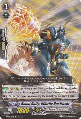 Beast Deity, Hilarity Destroyer - BT10/090EN - C