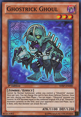 Ghostrick Ghoul - SHSP-EN000 - Super Rare - Unlimited Edition