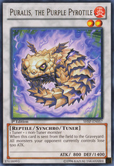 Puralis, the Purple Pyrotile - SHSP-EN057 - Rare - Unlimited Edition