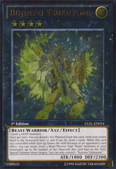 Bujintei Tsukuyomi - LVAL-EN054 - Ultimate Rare - 1st Edition on Channel Fireball