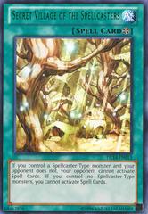 Secret Village of the Spellcasters - Green - DL14-EN013 - Rare - Unlimited Edition