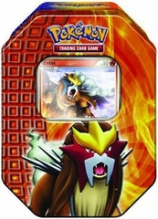 Pokemon 2010 Entei Holiday Tin