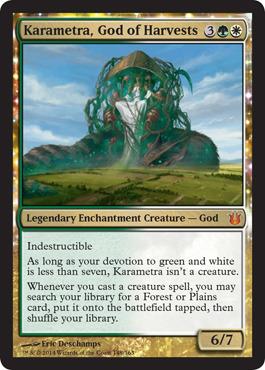 Karametra, God of Harvests - Foil