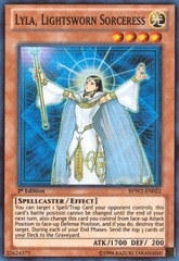 Lyla, Lightsworn Sorceress - BPW2-EN022 - Super Rare - 1st Edition