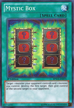 Mystic Box - BPW2-EN073 - Super Rare - 1st Edition