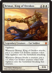 Brimaz, King of Oreskos on Channel Fireball