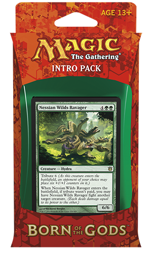 MTG Born of the Gods Intro Pack: Insatiable Hunger