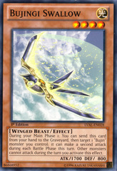 Bujingi Swallow - LVAL-EN028 - Common - 1st Edition on Channel Fireball
