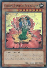 Chirubimé, Princess of Autumn Leaves - LVAL-EN039 - Super Rare - 1st Edition