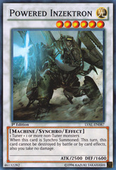Powered Inzektron - LVAL-EN087 - Super Rare - 1st Edition