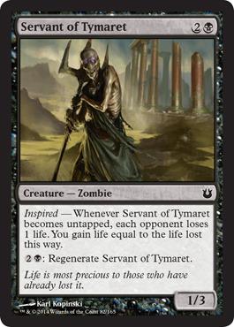 Servant of Tymaret - Foil