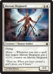 Akroan Skyguard - Foil on Channel Fireball