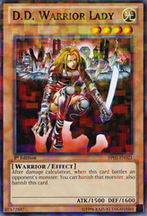 D.D. Warrior Lady - BP02-EN021 - Mosaic Rare - Unlimited