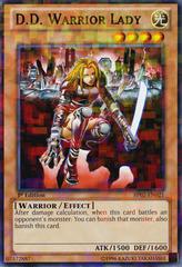 D.D. Warrior Lady - BP02-EN021 - Mosaic Rare - Unlimited on Channel Fireball