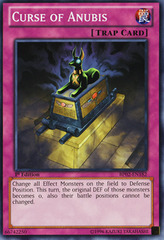 Curse of Anubis - BP02-EN182 - Common - Unlimited on Channel Fireball