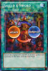 Shield & Sword - BP02-EN130 - Mosaic Rare - Unlimited