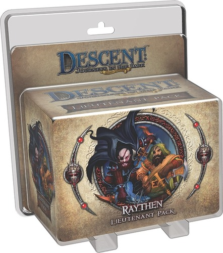 Descent: Journeys in the Dark (Second Edition) - Raythen Lieutenant Pack