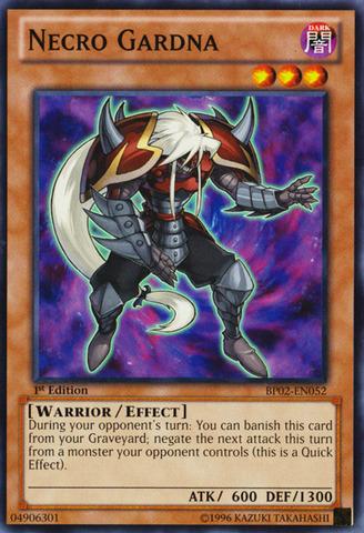 Necro Gardna - BP02-EN052 - Common - Unlimited
