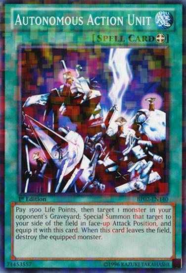 1st Near Mint English BP02-EN152 Common Union Attack Yugioh