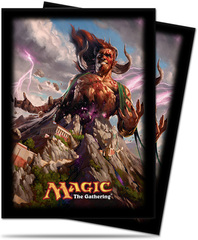 Born of the Gods Xenagos Deck Protectors for Magic 80ct on Channel Fireball