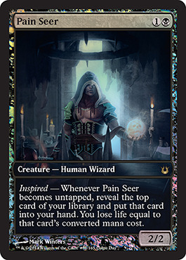 Pain Seer - Game Day Promo