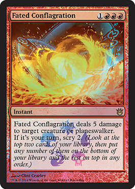 Fated Conflagration (Born of the Gods Buy-a-Box Promo)