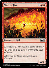 Wall of Fire - Foil