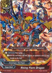 Rising Flare Dragon - TD01/0003EN - C