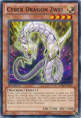Cyber Dragon Zwei - SDCR-EN004 - Common - 1st Edition on Channel Fireball