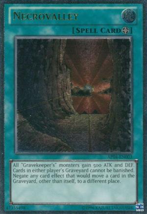 Necrovalley - AP04-EN003 - Ultimate Rare - Unlimited Edition