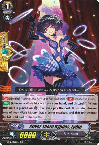 Silver Thorn Hypnos, Lydia - BT12/020EN - RR