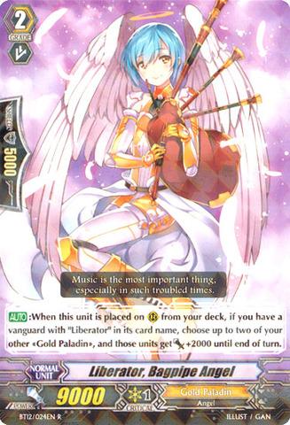 Liberator, Bagpipe Angel - BT12/024EN - R