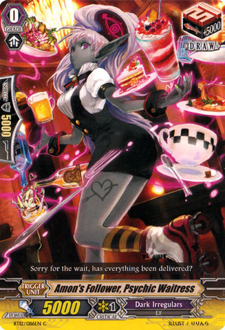 Amon's Follower, Psychic Waitress - BT12/086EN - C
