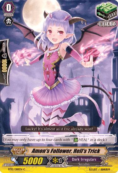 Amon's Follower, Hell's Trick - BT12/088EN - C