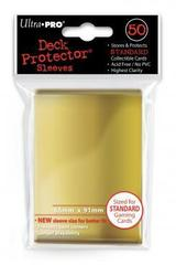 Gold (Ultra Pro) - Standard Sleeves - 50ct