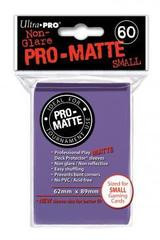 Pro-Matte Purple Small Deck Protectors - 60ct