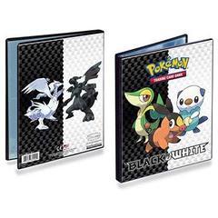 Black & White Generic V5 4-Pocket Portfolio for Pokemon