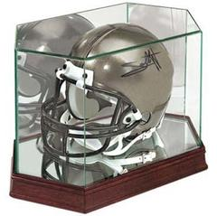 Football Helmet Premium Glass Display