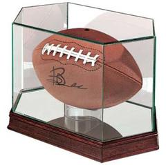 Football Premium Glass Display