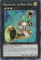 Melomelody the Brass Djinn - SP14-EN030 - Common - 1st Edition