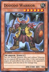 Dododo Warrior - SP14-EN018 - Starfoil Rare - 1st Edition