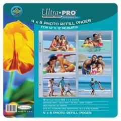 12 x 12 Size Photo Page 10ct Pack
