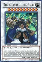 Thor, Lord of the Aesir - SP14-EN048 - Starfoil Rare - 1st Edition on Channel Fireball