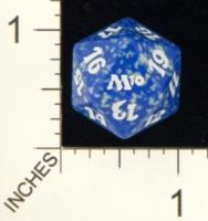 Magic Spindown Die - 2010 Core Set - Blue