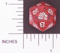 Magic Spindown Die - Black Lotus - Red