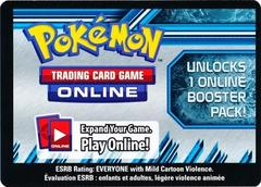 Plasma Storm Unused Booster Pack Code Card