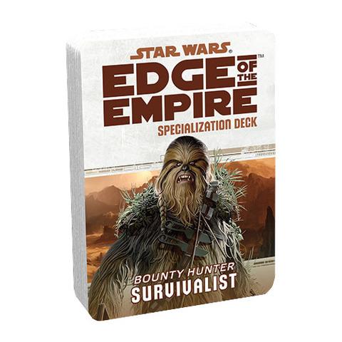 Star Wars: Edge of the Empire: Survivalist Specialization Deck